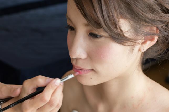 東京での結婚写真撮影のメイク道具は持ち込みOK