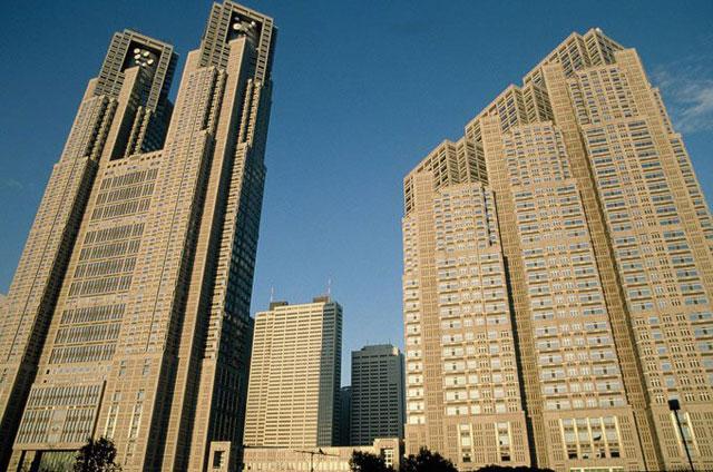 東京都を一望できる展望台は一般人にも開放されています
