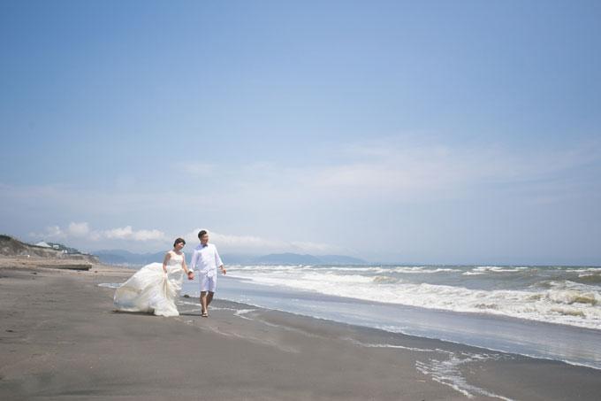 思い出の砂浜をお散歩♪