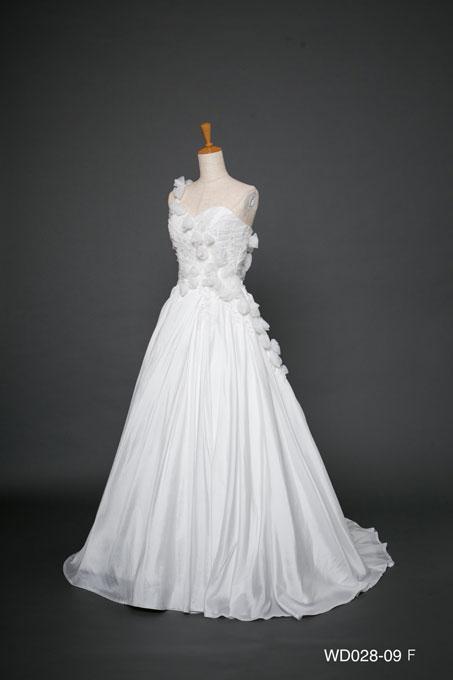ウェディングドレス WD028-09F