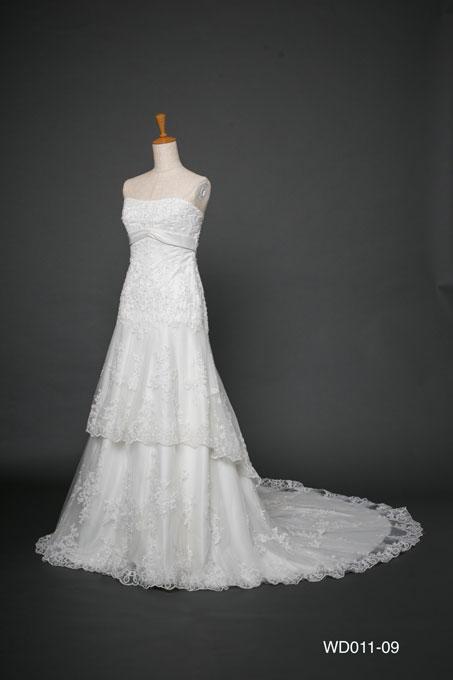 ウェディングドレス WD011-09