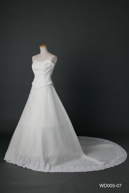 ウェディングドレス WD005-07