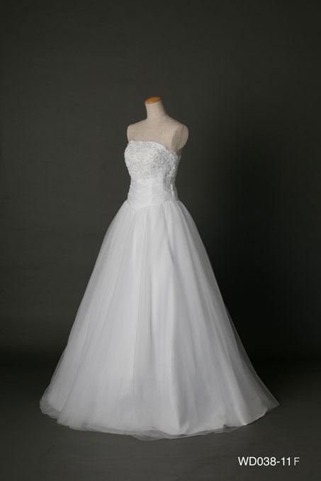 ウェディングドレス WD038-11F