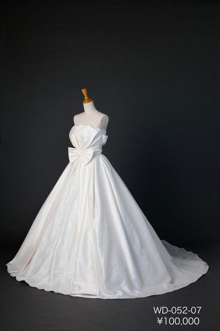 グレードアップウェディングドレス WD-052-07