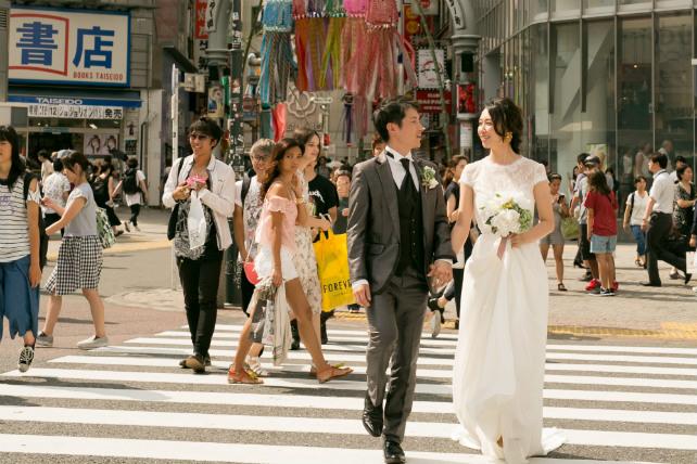 代々木公園と渋谷スクランブル交差点の自然と都会どちらも楽しめるフォトツアー