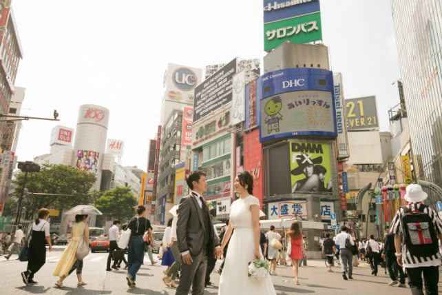 代々木公園~スクランブル交差点 東京のロケーションフォトツアー