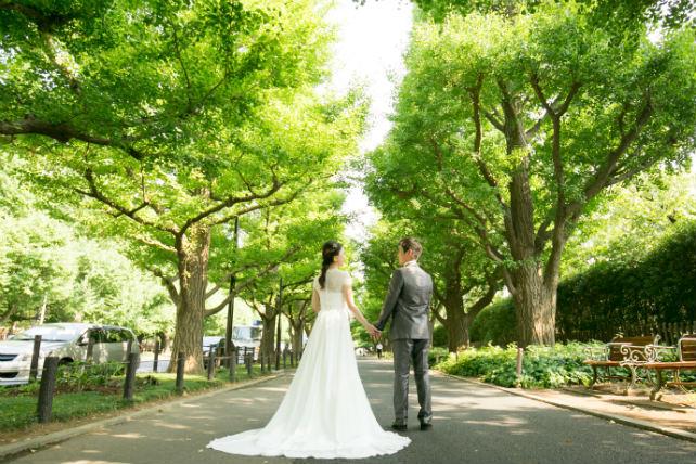 【WEB限定】青山銀杏並木 東京のロケーションフォト