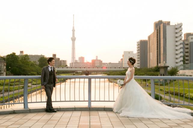 東京スカイツリー 東京のロケーションフォト
