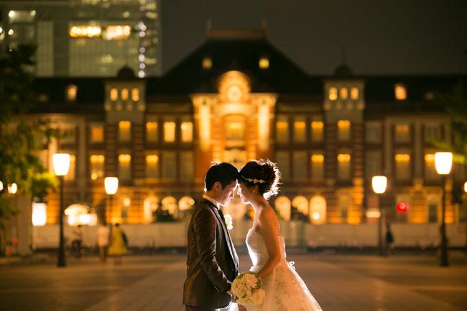 東京駅の丸の内駅舎は前撮りやフォトウェディングの定番&おすすめスポット