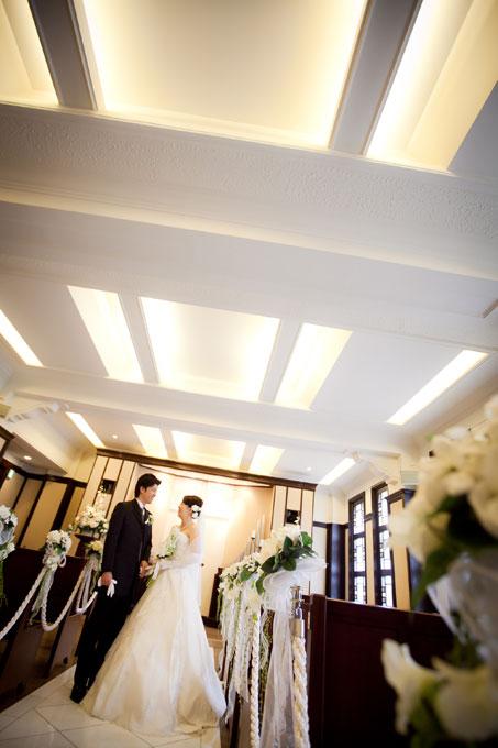 東京の学士会館で叶える結婚写真